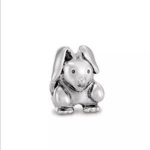 Authentic retired Pandora bunny rabbit charm